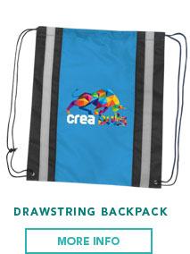 Reflecta Drawstring Backpack | Bladon WA | Perth Promotional Products