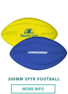 200 mm Spyr Football | Bladon WA | Perth Promotional Products
