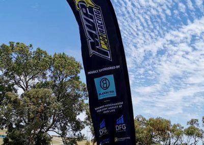 MVP Racing | Tear Drop Banner