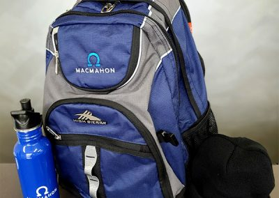 MacMahon | High Sierra Backpack, Bottle and Beanie